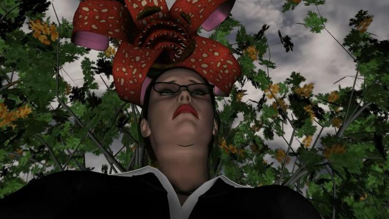 【丸呑み】もしパックンフラワーが実在したら?公園の人食い花が怖い