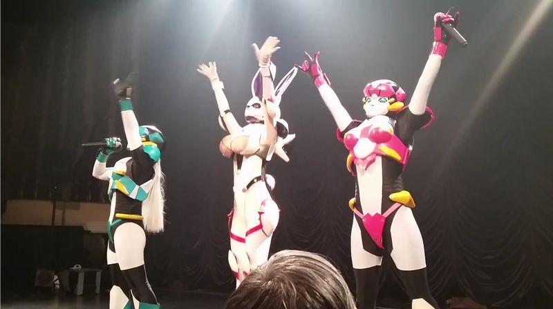 【にょロボてぃくす】ロボットアイドルがデパートメントHに参戦!