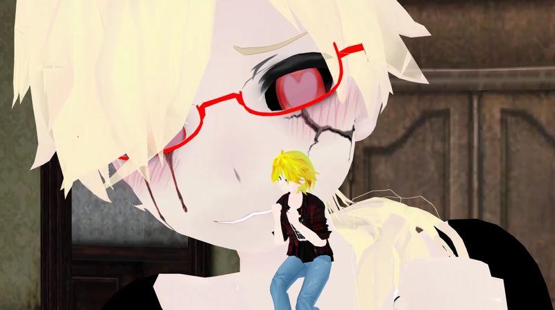 【ショタ丸呑み】サイズフェチ悶絶!小さな金髪美少年が飲み込まれる