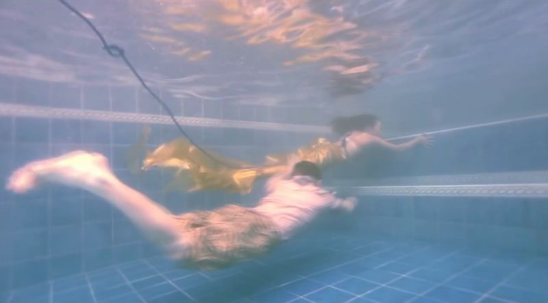 【人魚狩り】マーメイドを捕まえろ!不老不死の秘薬は水中を逃げ回る