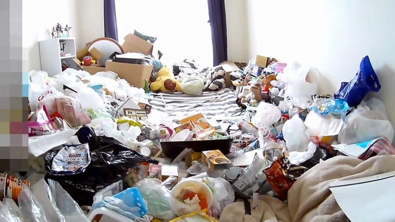 【汚部屋】夜逃げ後に残されたゴミの山!家賃滞納のズボラ女子が怖い