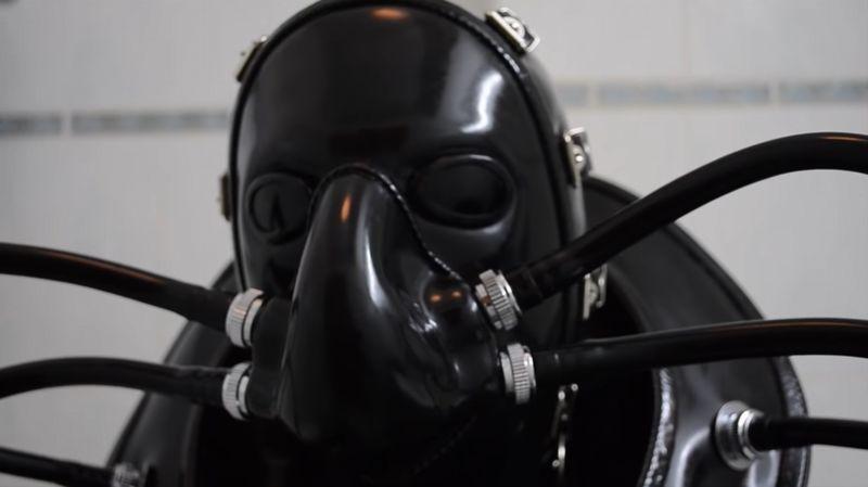 【ラバーマスク】コロナウイルス対策も完璧!ラテックスが人類を救う